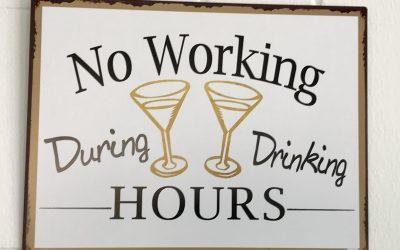 Wein-sinnige Schilder