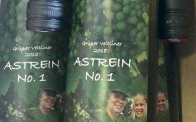 """Unser erster """"eigener"""" Wein ..."""